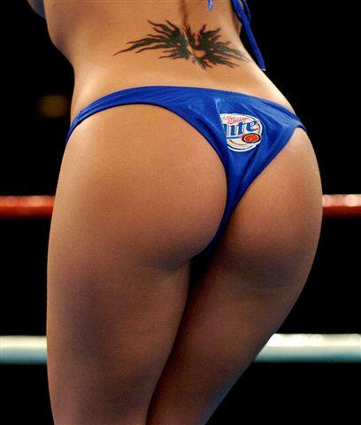 Hot boxing ring girls naked
