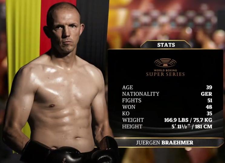 Бремер— последний полуфиналист глобальной боксерской суперсерии