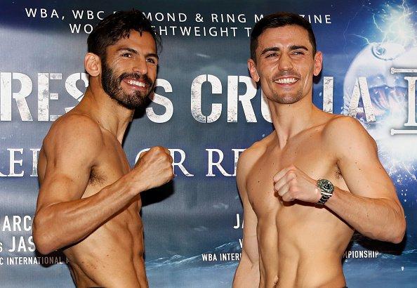 Линарес победил Кроллу изащитил титул чемпиона WBA влегком весе